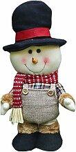 1er Skalierbare Weihnachten Puppe Weihnachtswichtel Deko Figur Spielzeug nette Geschenk für Kinder, #2
