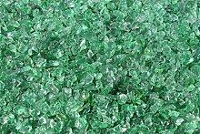 1kg Glas Splitt 5-10mm grün