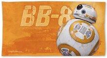 1LAP2GO Towel Fashion Star Wars BB-8 Ganzfarbiges