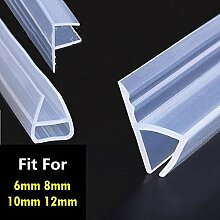 1m 6-12mm F u h Form Glastür dichtungen