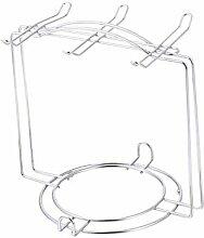 1Pc Edelstahl Cup Plate Organizer Küchenschrank