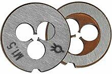 1pc Legierter Stahl Metrische Schraubenmatrize M1