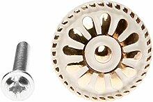 1Pc Möbel Schrank Schublade Türdrücker Griff Möbelgriff - einziges Loch-25mm