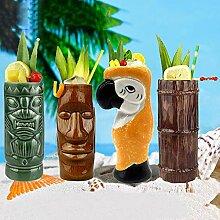 1pc Tiki-Köpfe Tiki Becher Tiki Mugs