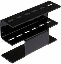 1Pcs 6 Löcher Pinzette Storage Rack Wimpern