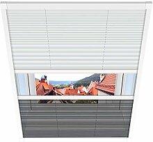 1PLUS Fliegengitter Plissee für Dachfenster