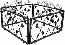 1PLUS Rankgitter Beetzaun Rankzaun Rankhilfen , 4 Zaunelemente Set, 4 x 57,5 x 46 x 1,4 cm, in verschoiedenen Varianten (Poulsen)