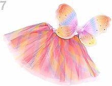 1set 7 Multicolor Karnevalskostüm -