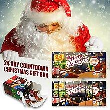 1Set Adventskalender-Boxen für Weihnachten