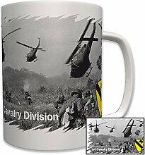 1st Cavalry Division US Vietnam Krieg Nam Foto Militär Armee Army - Tasse Becher Kaffee #6222