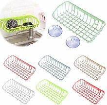 1St. Kunststoff Waschbecken Regal Küche Schwamm
