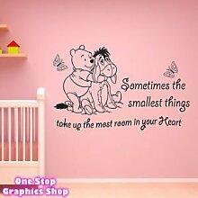 1STOP Grafik - Geschäft Winnie the Pooh Wandkunst