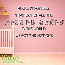 1Stop Graphics Shop Best Little Mädchen