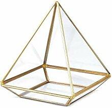 1stück Transparent Arany Pyramide