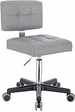 1stuff® Rollhocker mit Lehne LEHNO - Sitzhöhe