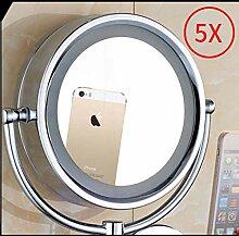 1X / 3X LED Badezimmerspiegel beleuchtet