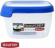 1x Curver Frischhaltedose Frischhaltebox Vorratsdose Grand Chef kompakt 1,2 L, Menge Sets:1 Stück