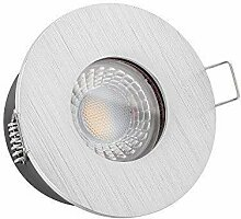 1x dimmbare, 35mm flache LISTA AQUA Bad LED