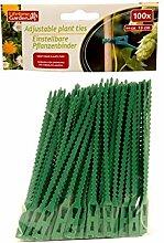 1x - Satz von 100 grünen Kunststoff-Links 13cm - Qualität COOLMINIPRIX®