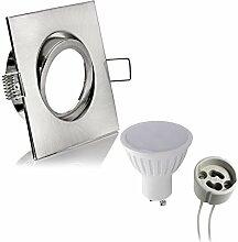 1x (Set) LED Einbaustrahler Einbauleuchte