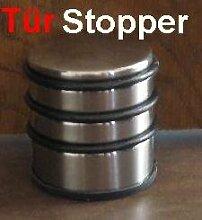 1x Türstopper, chrom Tür Stopper, Türpuffer Hoch ca. 1,1KG schwer (LHS)