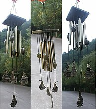 1x Windspiel Klangspiel Wind Chimes Haus Garten Dekor Feng Shui Ornament - 02