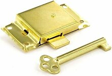 21/5,1cm Zoll Schrank Lock Gold