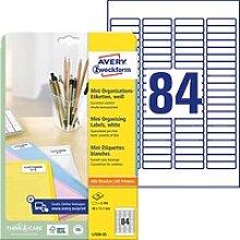 2.100 AVERY Zweckform Etiketten L7656-25 weiß