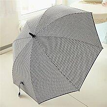 2-3 Personen Großer Regen Regenschirm Sonnenschutz Halbautomatischer Regenschirm Starke Winde Langstieliger Regenschirm Dual Regenschirm