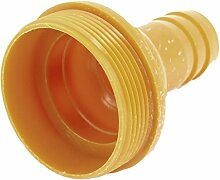 2,5cm Wasser Pumpe Schlauch Barb zu 5,3cm Außengewinde Kupplung Adapter Fitting orange
