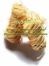 2,5 Kg HuSaMae Nachhaltige Öko Bio Holzwolle Anzünder Grillanzünder, Kaminanzünder, Ofenanzünder usw. aus Holzwolle und Wachs