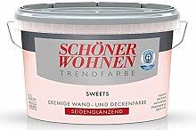 2,5 L Schöner Wohnen Trendfarbe, cremige Wandfarbe, Sweets Seidenglänzend