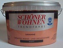 2,5 L Schöner Wohnen Trendfarbe, Wandfarbe, Savanne Ma