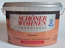 2,5 L Schöner Wohnen Trendfarbe, Wandfarbe, Savanne Seidenglanz