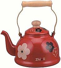 2 5 l Teekanne Pfeife Emaille Teemaschinen für