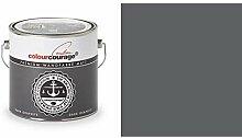 2,5 Liter Colourcourage Premium Wandfarbe Dark