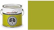 2,5 Liter Colourcourage Premium Wandfarbe Moutarde