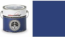 2,5 Liter Colourcourage Premium Wandfarbe Navy