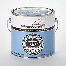 2,5 Liter Colourcourage Premium Wandfarbe