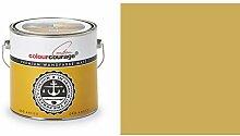 2,5 Liter Colourcourage Premium Wandfarbe Oro