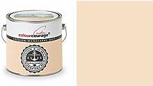 2,5 Liter Colourcourage Premium Wandfarbe Peanut