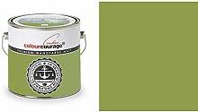 2,5 Liter Colourcourage Premium Wandfarbe Pomme de