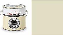 2,5 Liter Colourcourage Premium Wandfarbe Sables