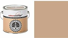2,5 Liter Colourcourage Premium Wandfarbe Shell