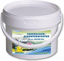 2,5kg Fadenalgenmittel Algenmittel Fadenalge Teich Koi Algenstop Algenkiller