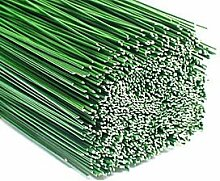 2,5kg Steckdraht Blumendraht Bindedraht grün 0,8x300mm