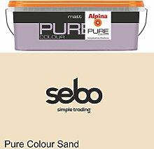 2,5l Alpina Pure Color Sand Trend Wandfarbe Matt #32