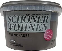 2,5L Schöner Wohnen - Trend Wandfarbe matt Rock