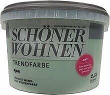 2,5L Schöner Wohnen - Trend Wandfarbe matt Spa