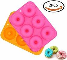 26-cavity Silikon Donut Donut Pfanne,